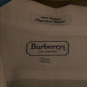 Burberry Tops - Burberry Button down